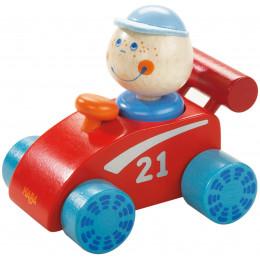 Rode Speelgoedauto - Habaland Racewagen