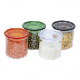Glazen potje met hermetisch deksel - 500 ml