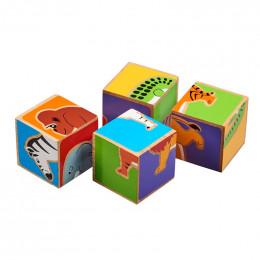Puzzelblokken - Oerwoud