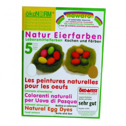 Eierverf - 5 kleuren