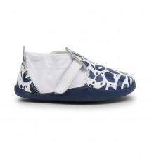 Schoenen Step Up Street - Xplorer Abstract White + Navy - 500031