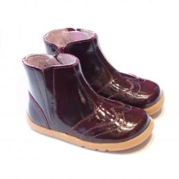 Enkellaarsjes I-Walk - Whistle boot Plum 628302