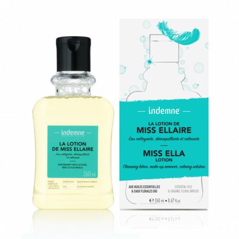 Lotion van Miss Ellaire: water dat reinigt, make-up verwijdert en kalmeert - 260 ml