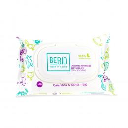 Ecologische babydoekjes: Calendula en Karite Reisformaat - 20 doekjes