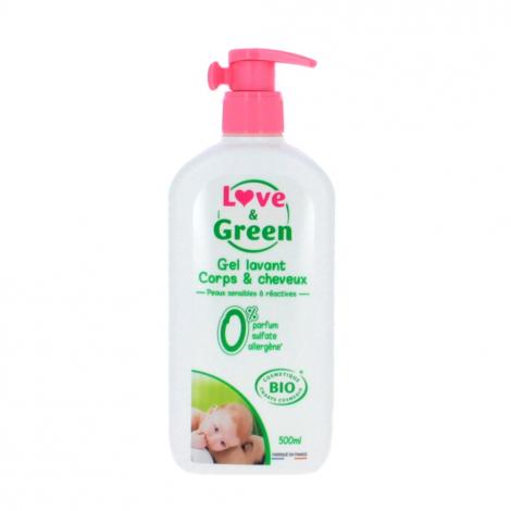 Hypoallergene Body & Hair Gel - 750 ml