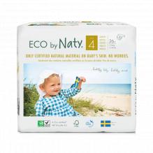 Ecologische wegwerpluiers - Maat 4 Maxi - 7 tot 18kg (27 stuks)