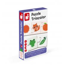 Puzzel Triocolor vanaf 3 jaar