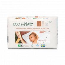 Ecologische wegwerpluiers - Maat 1 Newborn - 2 tot 5kg (26 stuks)