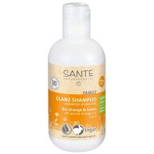 Glansshampoo -  bio sinaasappel en kokos - 200 ml