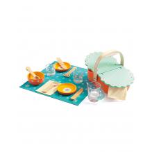 Houten 'madeliefjes' picnic setje - vanaf 3 jaar
