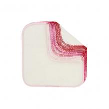 Flanel wasbare doekjes - Afgeleid van roze - Set van 12