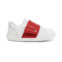 Schoenen Step up - Boston Trainer White + Red - 729906