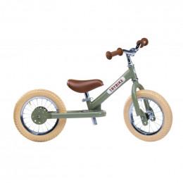 Trybike steel loopfiets vintage green - tweewieler