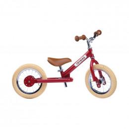 Trybike steel loopfiets vintage red - tweewieler