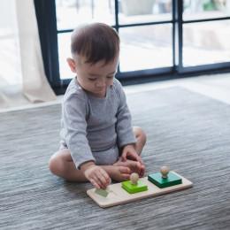 Puzzel vierkanten - vanaf 12 maanden