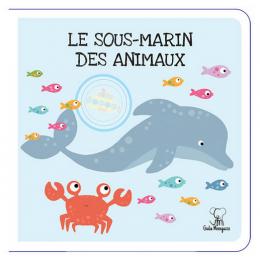Koffer De dieren van de jungle - reuzenpuzzel + boek - 30 stukjes - vanaf 3 jaar