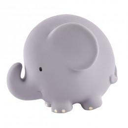 Bijt- en badspeeltje met belletje olifant - vanaf de geboorte