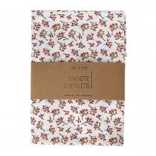 Sac à pain - 35 x 50 cm - Fleurs