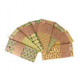 Pochette cirée pour sandwichs - 40 x 45 cm - motifs aléatoires