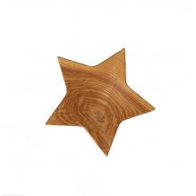 Houten sterrenschaal