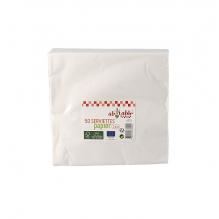 Ecologische papieren servietten - 50 stuks