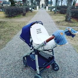 Kinderwagen gordijn Please Do Not Disturb