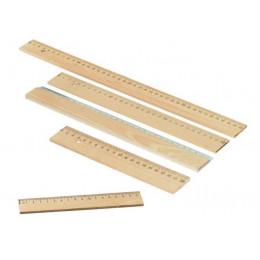 Platte houten lat van hout - nu in 5 maten!