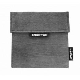 Pochette casse-croûtes lavable et réutilisable Snack'n'Go - Black