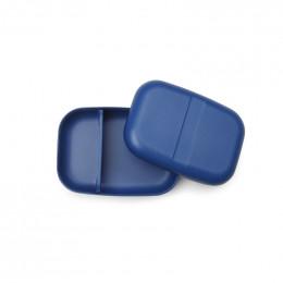 Boite à tartines à compartiments - lunch box Bento - Bleu