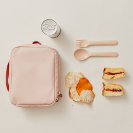 Lunch bag Go REPet - Blush en terracotta