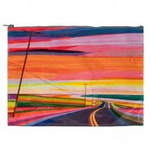 Grote tas gemaakt van gerecycled materiaal - Sunset highway