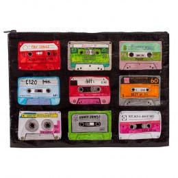 Grote tas gemaakt van gerecycled materiaal - Mixtape