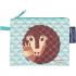 Mini zakje - portemonnee in BIO Katoen - Pangolin