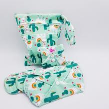 Kit de départ - serviettes hygiéniques lavables -