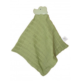 Krokodillenknuffel van natuurrubber - Groen - vanaf de geboorte