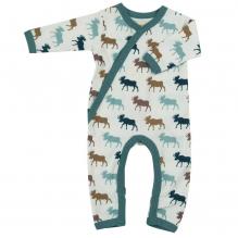 Pyjama - Biologisch katoenen pyjama met sokjes - Veelkleurig Eland-pakje