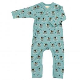 Pyjama - Biologisch katoenen pyjama met sokjes - Eskimo Surf