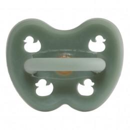 Orthodontische rubberen speen - Eendjes - Mosgroen