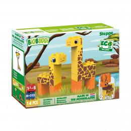Bouwpakket Wildlife Steppe - 14 blokken - vanaf 18 maanden