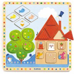 Houten puzzel - Ludigeo