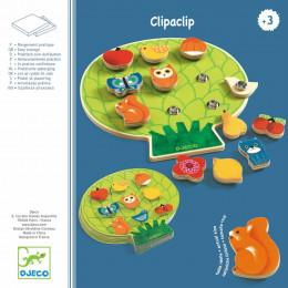 Houten spelletje Clipaclip