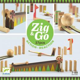Zig & Go dominoset - 27 stuks