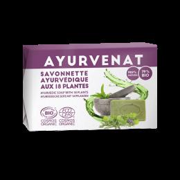 Ayurvediche zeep met 18 biologische planten
