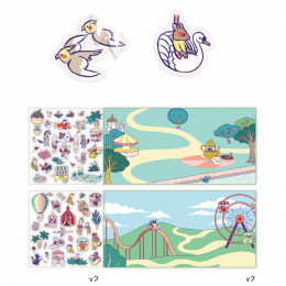 Stickerverhalen - Kermis