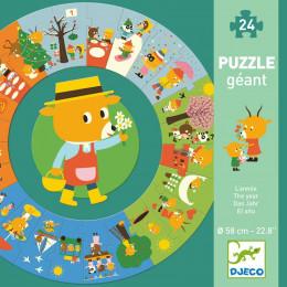 Grote puzzel - Het jaar