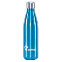 100% Roestvrijstalen drinkfles - Blauw - 500 ml