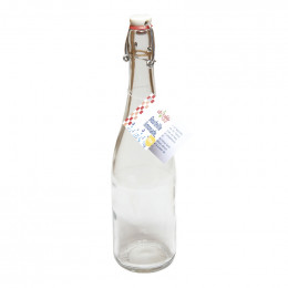 Glazen fles 750 ml