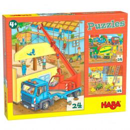 Puzzels - Op de bouwplaats
