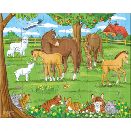 Puzzels - Dierenfamilies