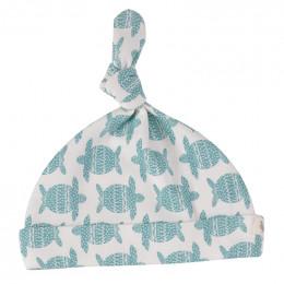 Babymutsje - Turtle turquoise